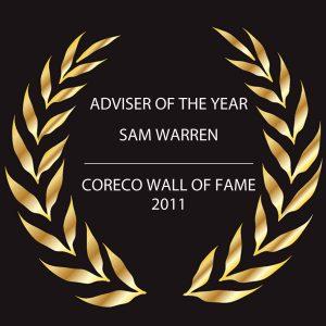 Adviser-of-the-year-sam-warren-2011