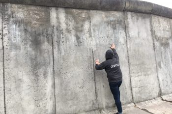 Coreco travels to… the Berlin Wall