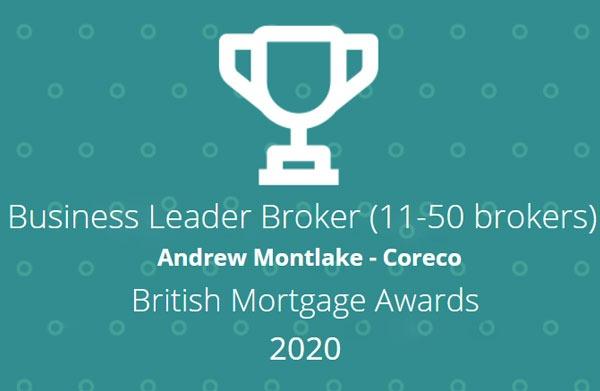 Business Leader Broker award